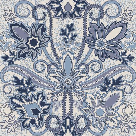 disegni cachemire: Seamless pattern con paisley.FLoral background.Traditional orientale ornamento di filigrana.