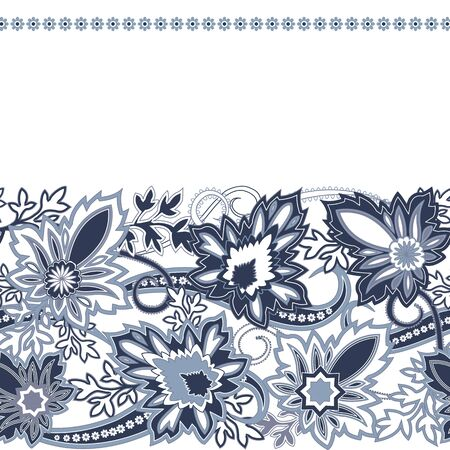 rsvp: Wedding invitation card with traditional ethnic flower paisley ornament. Invitation, Save the date, RSVP, Thank you card printable template.