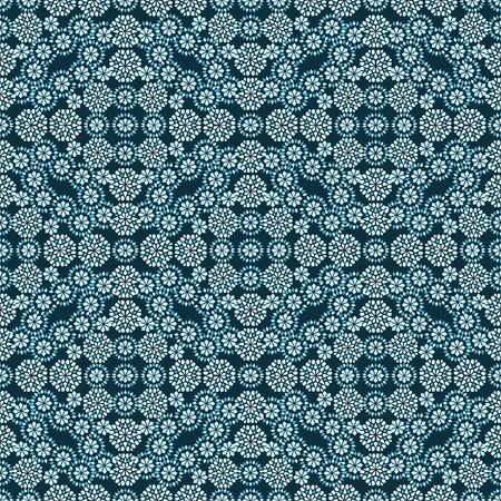 Damask luxury seamless background. Filigree oriental ornament. Decorative l pattern in mosaic ethnic style.Arabian motifs. Idea for design textile, material, fabric, wallpaper Vector illustration Vettoriali