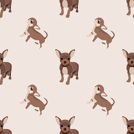 Seamless dogs and cats colorful background. Animal motifs. Loved pets