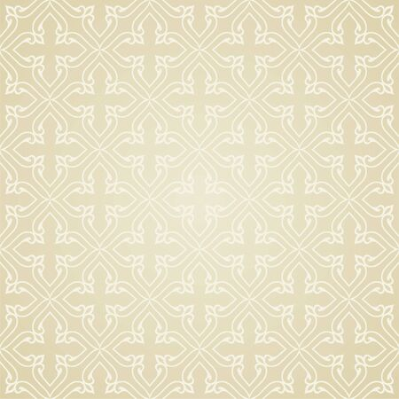 Vintage background traditional Ottoman motifs. Decorative seamless pattern in mosaic ethnic style. Oriental ornaments. Vector illustration