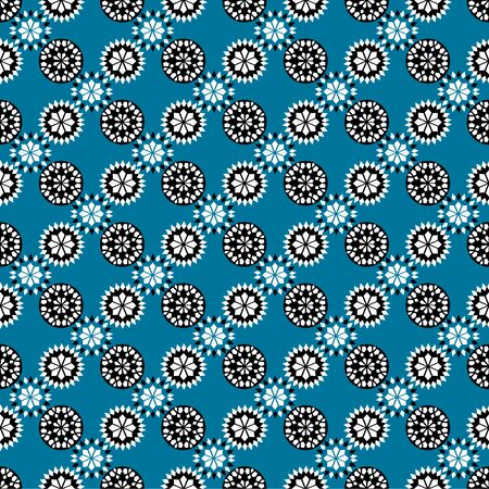 Damask luxury seamless background. Filigree oriental ornament. Decorative pattern in mosaic ethnic style. Arabian motifs. Idea for design textile, material, fabric, wallpaper Vector illustration