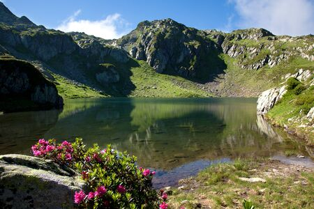 streifzug: Moutain lake of Chamonix in France
