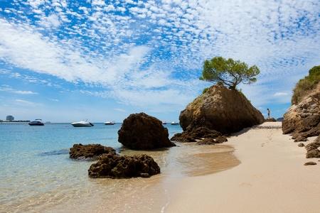 Beautiful beach of Setubal in Portugal photo