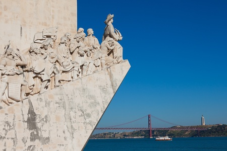 The Padrao dos Descobrimentos (Monument to the Discoveries) located in the Belem district of Lisbon, Portugal