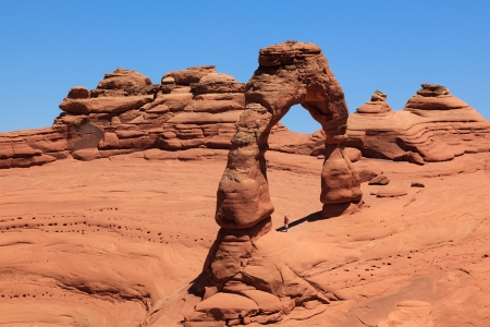 Arches  in Utah  - USA photo