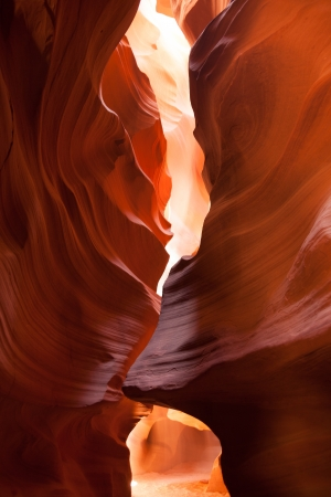 Antelope Canyon in the Navajo Reservation in Arizona - USA photo