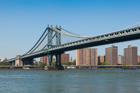Manhattan bridge in  New York City , USA photo