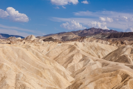 Eroded Ridges At Zabriskie Point, Death Valley National Park, California, USA photo