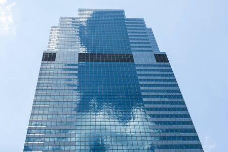 Manhattan skycraper, New York - USA Stock Photo