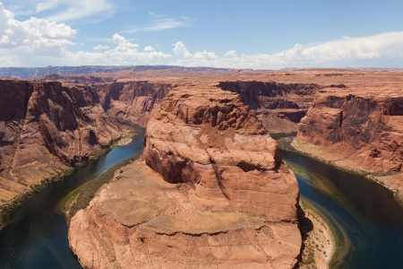 Horseshoe bend of Colorado river in Page Arizona - USA photo