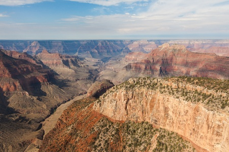 toroweap: Aerial view of Grand Canyon National Park in Arizona, USA