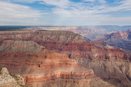 Aerial view of Grand Canyon National Park in Arizona, USA photo