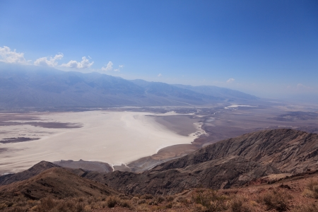 The Death Valley (from dante's view) in California - USA