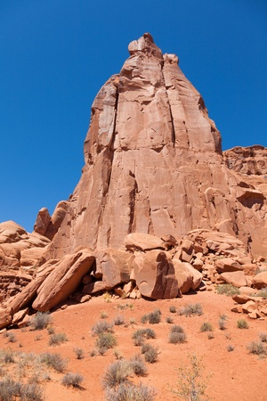 Arches national park in Utah  - USA photo