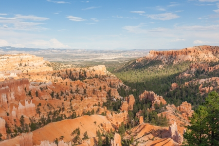Geological formations in Bryce canyon national park in Utah  - USA Stock Photo - 18702768