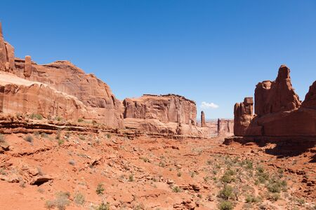 west coast: Arches national park in Utah  - USA
