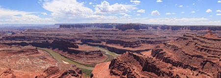 Panoramic view of Dead horse view in Utah - USA photo