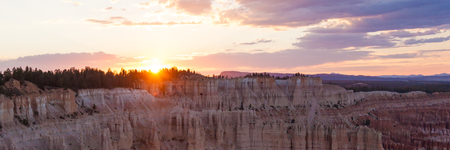 bryce canyon: Panoramic view of Bryce canyon national park in Utah  - USA
