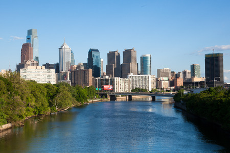 Skyline view of Philadelphia, Pennsylvania  - USA photo