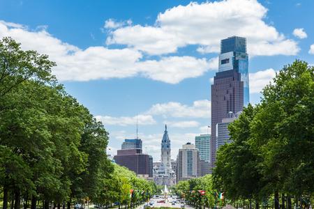 Philadelphia skyline - Pennsylvania - USA photo