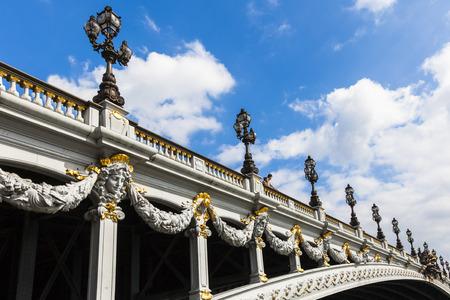alexandre: Alexander III bridge in Paris  Pont Alexandre III  - France