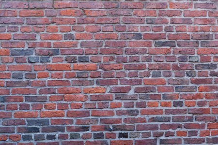massachusetts: Red brick wall in Boston, Massachusetts - USA