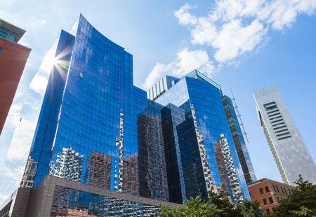 ボストンの金融地区 - アメリカにおける近代建築物