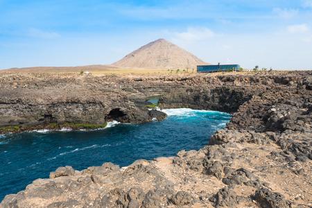 cape verde: Buracona  in sal Island Cape Verde - Cabo Verde
