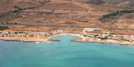 Aerial view of  Sal Island coast Cape Verde - Cabo Verde photo
