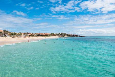 Santa Maria beach in Sal Cape Verde - Cabo Verde
