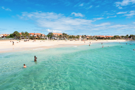 cape: Santa Maria beach in Sal Cape Verde - Cabo Verde