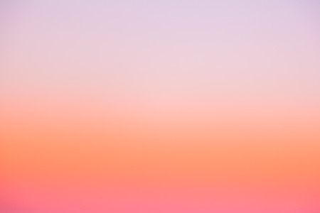Beautiful color gradient sky on morning sunrise Stock Photo