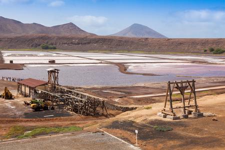 salina: View of Salinas  in Sal Cape Verde - Cabo Verde Islands