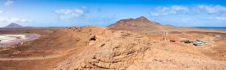 salina: Panoramic view of Salinas  in Sal Cape Verde - Cabo Verde