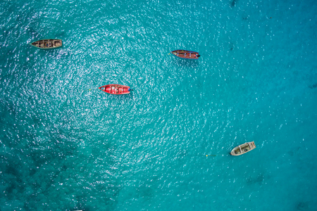 fisher: Traditional fisher boat in Santa Maria  in Sal Island in Cape Verde - Cabo Verde