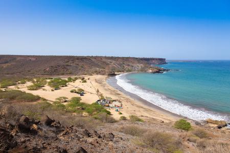 santiago cape verde: Sao Francisco beach in Santiago in Cape Verde - Cabo Verde