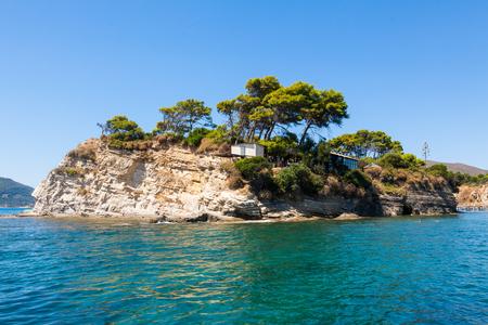 Cameo Island in Zakynthos (Zante) island, in Greece Stock Photo