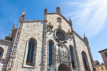 Santa Maria Assunta cathedral in Como city near Milan - Italy