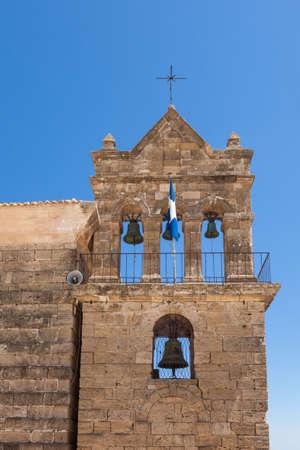 Old Church in Zakyntos town in Zante Island in Greece