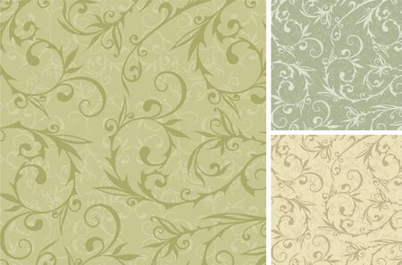 The vector background from decorative ancient curls.