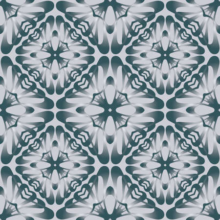 Seamless background of abstract design geometric elements