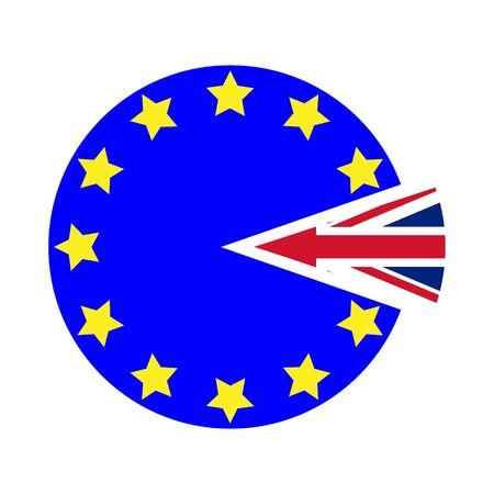 Flat brexit cake