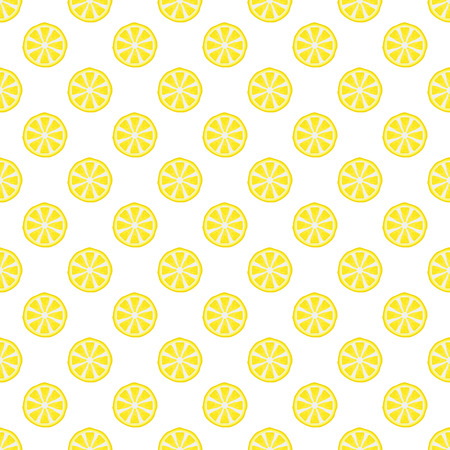 Colorful lemon pattern