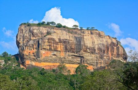 5th: Sigiriya Rock Fortress 5th Centurys Ruined Castle Editorial