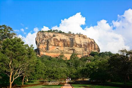 Sigiriya Rock Fortress 5th Centurys Ruined Castle