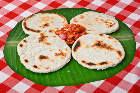Fresh Homemade Sri Lankan Pol Roti Stock fotó