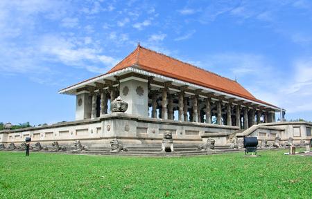 commemoration: Independence Commemoration Hall, Sri Lanka Stock Photo