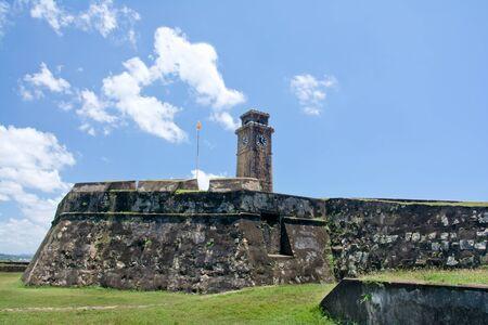 galle: Galle Dutch Fort 17th Centurys Ruined Dutch Castle, Sri Lanka