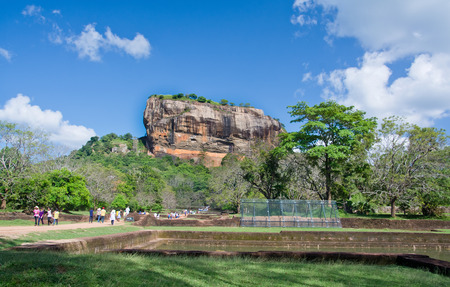 5th: Sigiriya Rock Fortress 5th Centurys Ruined Castle, Sri Lanka